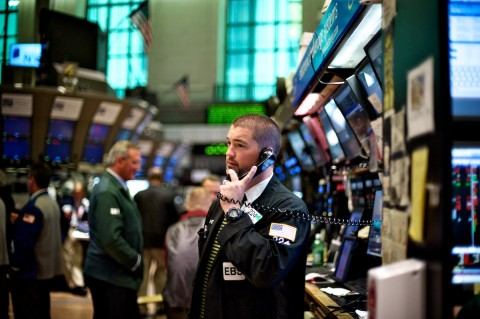 Bumpy road at New York Stock Exchange (File photo)