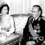 Engleska kraljica Elizabeta II i Tito u Jugoslaviji (Muzejski photo -- WPP archive)