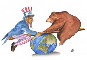 Cold War again...? (Photo illustration  - Detroit Street Press - for education only)