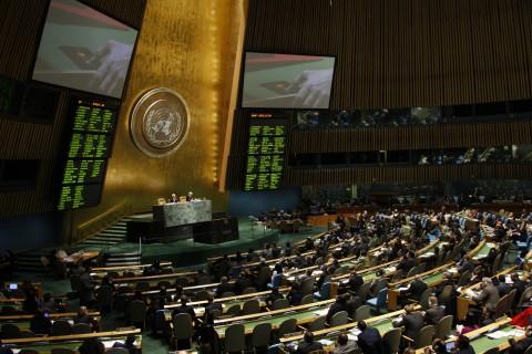 UN General Assembly vote on Syria 16. February 2012 (UN photo/Devra Berkowitz)
