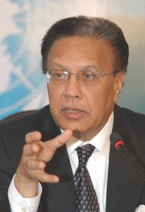 Ambassador Anwarul Karim Chowdhury (Credit/UN photo)