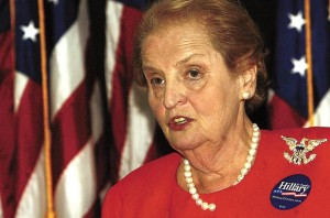 Bivša državna tajnica Madeleine Albright (Courtesy photo)