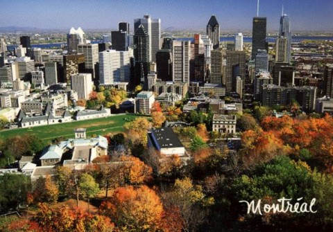 Montreal post card (Travel photo)