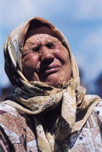 Mother of Srebrenica (Courtesy photo for education only)