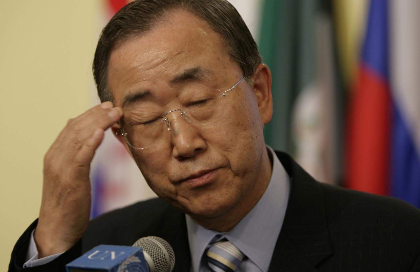UN Secretary General Ban Ki-moon (Courtesy UN photo)