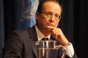 Dilemma: French President Francois Hollande u UN-u (Photo by Hajat Avdovic - Webpublicapress 2012)