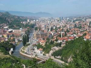 Sarajevo capital of Bosnia and Herzegovina during the summer time  (Webpublica photo - Erol Avdovic)