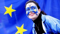 EU - woman in blue (Courtesy file photo)