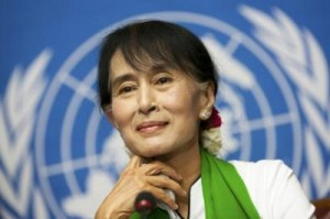 Myanmar's pro-democracy leader Aung San Suu Kyi (Courtesy photo UN)