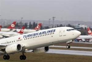 Turkish Airlines business take-off (Courtesy photo - edu.only)
