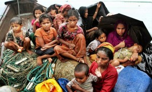 Rohingya Muslim population in Myanmar under constant threat and ethnic cleansing (Courtesy photo - edu.only)