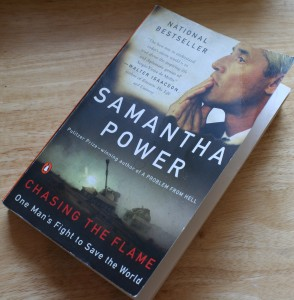 Samantha's Power book on UN's Siergo de Mello (WPP photo archive)