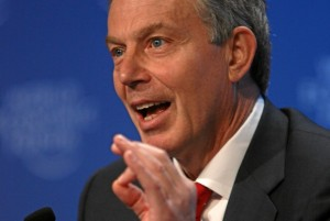 Former British Prime Minister Tony Blair at the UN November 21 - 2013 (Courtesy photo AA - /Cem Ozgur)