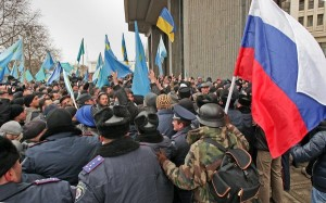 Unrest in Ukraine 2014 (Courtesy photo for education only)