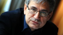 Turkish writer Orhan Pamuk (Columbia press photo courtesy for education only)