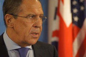 Sergey Lavrov, Foreign Minister of Russian Federation at the United Nations (Photo by Hajat Avdovic -- Webpublicapress)