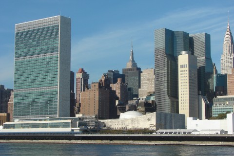 UN on East River (Photo by Hajat Avdovic Webpublicapress)