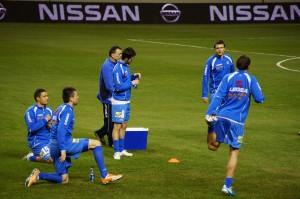 Bosnian National Team players  (Photo by Hajat Avdovic - Webpublicapress)