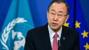 UN Secretary General Ban Ki-moon (photo EU archive)