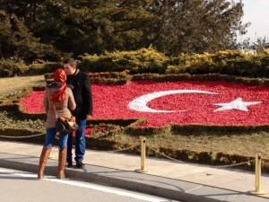 Ankara, Turkey, Ataturk mausoleum, January 2014 (Photo by Webpublicapress)