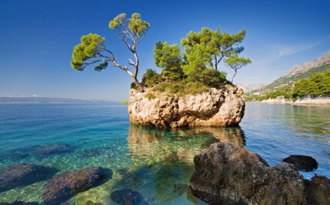 Croatian Adriatic sea image (courtesy travel photo for education only)