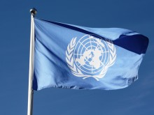 UN flag (public domain photo fror education only)