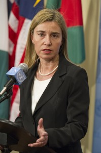 Federica Mogherini, High Representative of  the European Union for Foreign Affairs Security Policy and Vice-President of the European Commission. (UN photo by Eskinder Debeebe)
