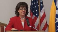 Maureen Cormack, US ambassador in Sarajevo (Courtesy Youtube photo for education only)