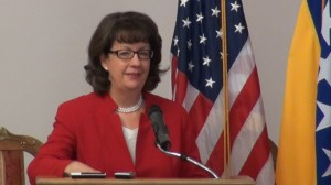 Maureen Cormack, US ambassador in Sarajevo (Courtesy Youtube photo for education only)
