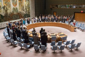 The Security Council met to consider a draft resolution  UN photo by Loey Felipe