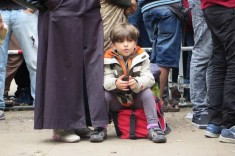 Refugee rival in Germany, September 2015 (Courtesy photo for education only)