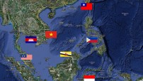 South China Sea troubled region (Map illustration for education only)