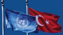 UN and Turkey's flag (UN photo illustration - for education only)