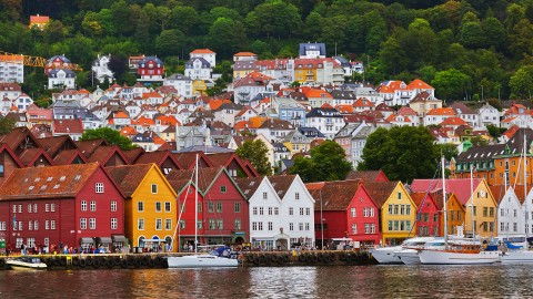 Bergen Norway (Courtesy photo for education only)