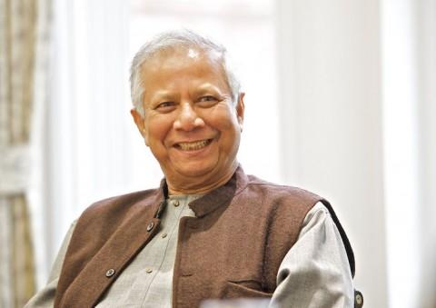 Nobel Laureate Prof. Muhammad Yunus. Photo Credit: Wikimedia Commons.
