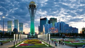 Astana of Kazahstan modern capital (Youtube photo for education only)