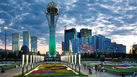 Astana of Kazahstan modern capital (Youtube photo for education only)