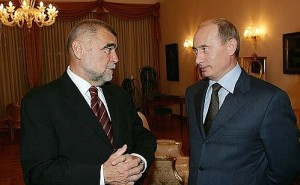 President Mesić with Vladimir Putin, president of Russia (Kremlin.ru photo, 2007, courtesy for education only)