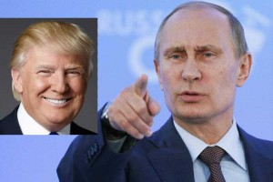 Putin and Trump photo montage for education only