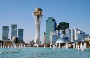 Astana, modern capital for better Asia (Photo creditTaste of slow - for education only)