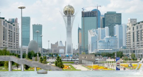 Astana - neutral territory for peace talks on Syria 2017 (Courtesy photo for education only)