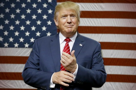 Donald Trump 45. President of the United States of America (Courtesy photo for education only)