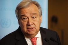 Antonio Guterres UN Secretary General (Photo by Erol Avdovic Webpublicapress)
