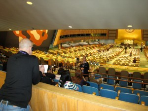 Hemon at the UN General Assembly (UN photo)