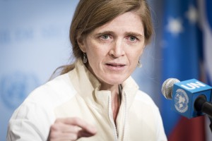 Ambassador Samantha Power, March 2016, UN photo by Mark Garten