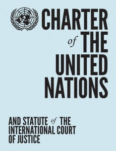 United Nations Charter - coverage (WPP photo File)