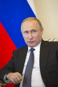Vladimir Putin UN photo Rick Bajornas, June 2016, Saint Petersbourg Russia