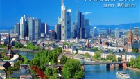 Frankfurt am Main - Germany in picture-cards (Travel photo)