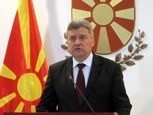 Even Macedonian president Georgi Ivanov didn't like the change of country's name to the Republic of North Macedonia  (Photo Balkan Insight News - BIRN) -- for education only)