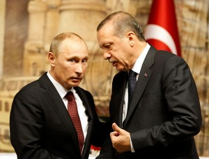 Russian and Turkish presidents Vladimir Putin and Recep Tayyip Erdogan (Courtesy photo for education only)